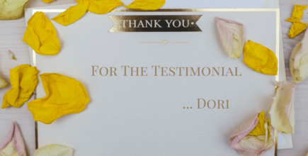 Testimonials – Kind Words From Clients