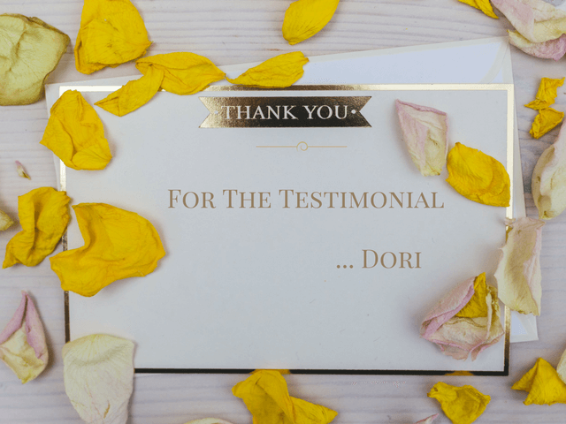 Testimonial for Penticton Realtor: Dori Lionello