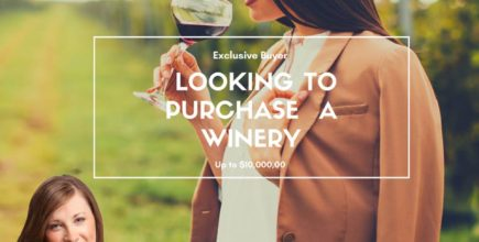 Winery Buyer  – Pairing wine and real estate!